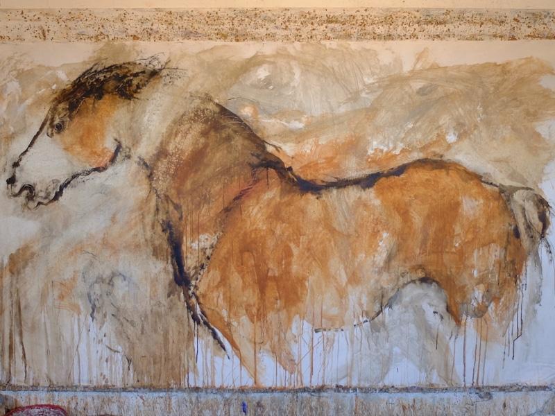 Uno dei molti cavalli di Carlo Romiti
