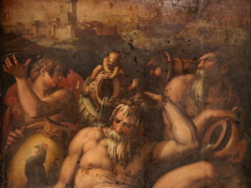 Giorgio Vasari - Allegoria del Chianti