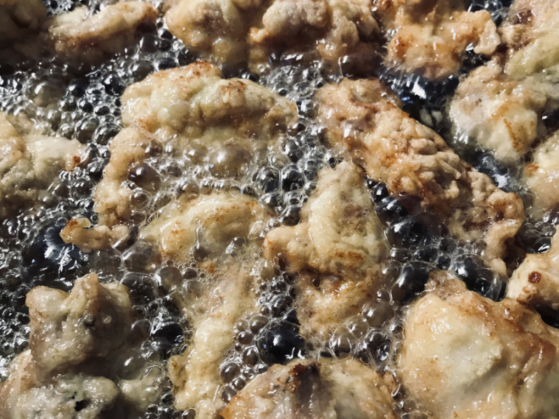 Coniglio in frittura