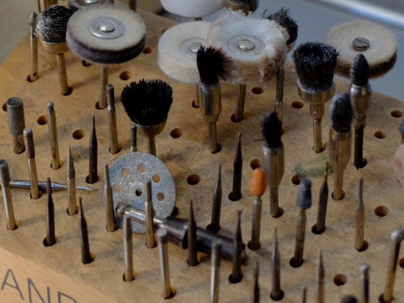 The goldsmith's tools