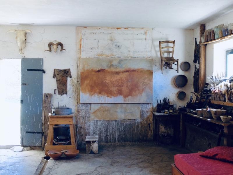 Carlo Romiti's studio