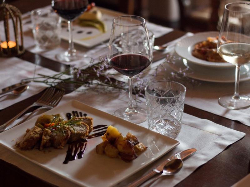 Tenuta Sant'Ilario, il ristorante