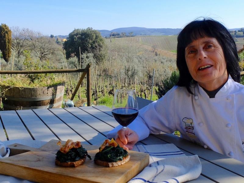 La Signora Loriana, Agrichef di Renai e Monte a Gambassi Terme