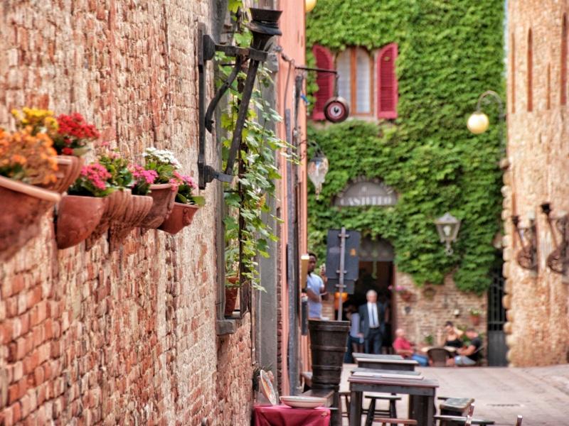 Certaldo Alto, Toscana