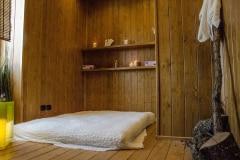 Area massaggi dello stabilimento termale