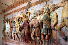 San Vivaldo, la Cappella dell'andata al calvario