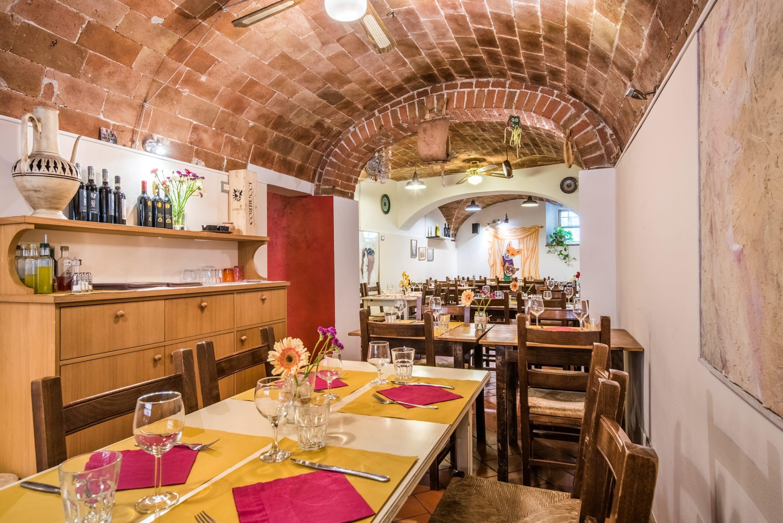Albergo Il Gatto e la Volpe - The restaurant